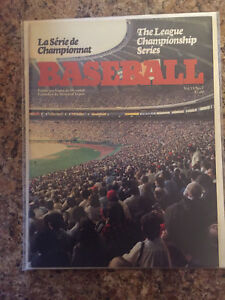 1981 LCS - Montreal Expos vs Dodgers - official program/INTACT
