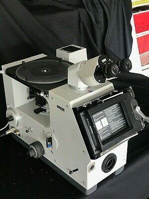 Zeiss Metallurgical Inverted Microscope