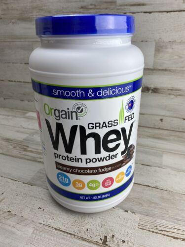 Orgain - Organic Grass Fed Whey Protein Powder Creamy