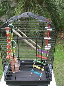 LARGE BIRD CAGE - perfect for hand taming Holland Park Brisbane South West Preview