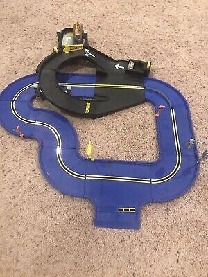 Hot Wheels Crash Curve Playset - Car Racing Action Toy - Mattel