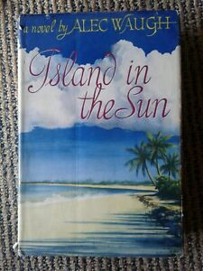 Vintage hardcover book, 'Island in the Sun' 1956
