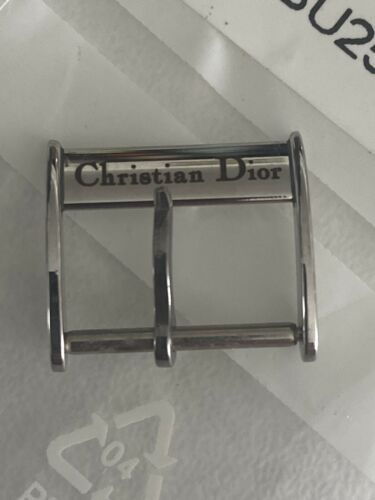 Christian dior montre boucle ardillon bracelet 14 mm buckle watch bracelet diorv