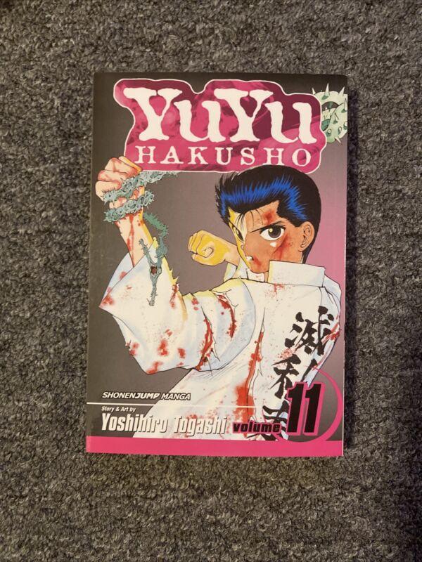 YuYu Hakusho Manga English Vol 11
