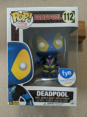Funko POP! Marvel, Deadpool #112 Blue, FYE Exclusive