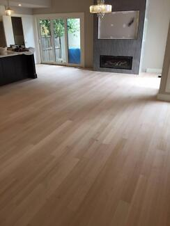 Timber floors installation, sanding and polishing