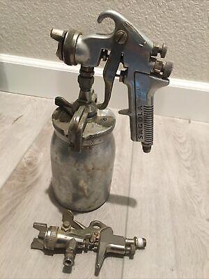 Sagola Spray Gun With Sharpen Spray Cup And Extra Unbranded Spray Gun.
