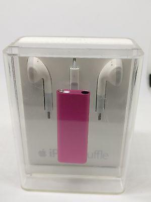 NEW Apple iPod shuffle 3rd Gen. (Late 2009) Pink (2GB) APPLE COLLECTORS ITEM Ipod Shuffle 3rd Gen