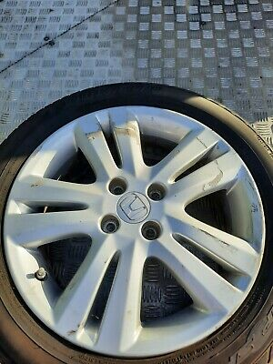 "HONDA JAZZ 16"" ALLOY WHEEL FITTED WITH DUNLOP SP SPORT 185/55/16 TYRE REFURB"