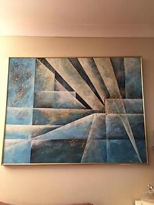 2 oil paintings $100 each Highland Park Gold Coast City Preview