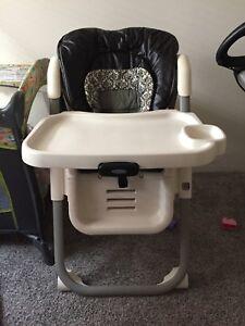 EUG Graco Adjustable High Chair