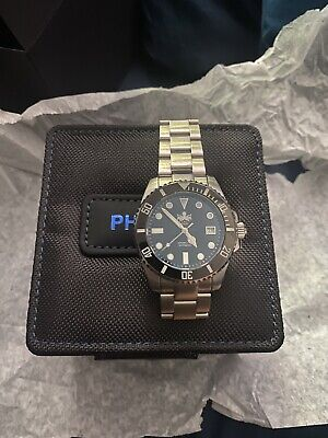 Phoibos PY007C 300M Automatic Diver Watch Black Updated Version Ceramic Bezel
