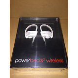 Dre Beats Powerbeats 2 Wireless Ear Hook Bluetooth Headphones White