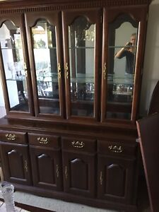 Dining Room Set, Queen Anne, cherrywood
