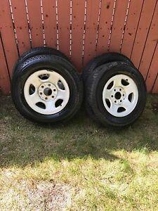 Michelin latitude X-Ice winter tires