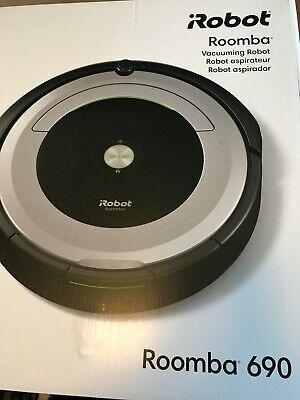 iRobot Roomba 690 Black/Silver Self-Charging Robot Vacuum