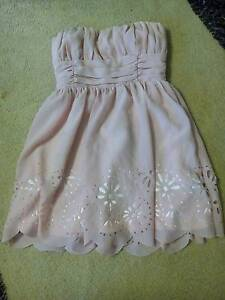 Miss shop strapless baby pink dress sz 10 Wagga Wagga Wagga Wagga City Preview
