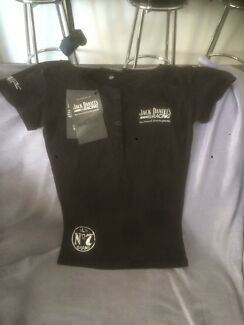 Size 12 ladies or kids Jack Daniels tee shirt new with tags