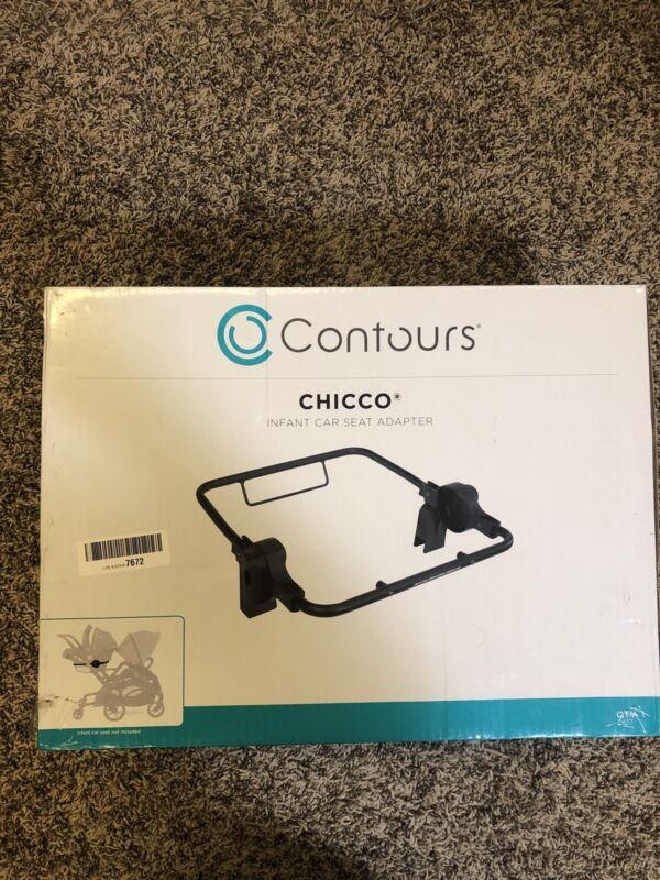 Contours Chicco Infant Car Seat Adapter Contours Curve/Options/Options Elite