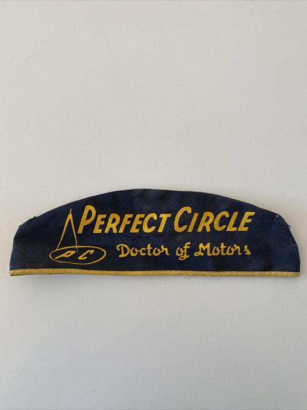 RARE Vintage Original PERFECT CIRCLE Doctor Of Motors Auto Car Garage Hat Cap