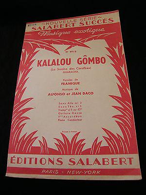 Partition Kalalou Okra Daco Music Sheet