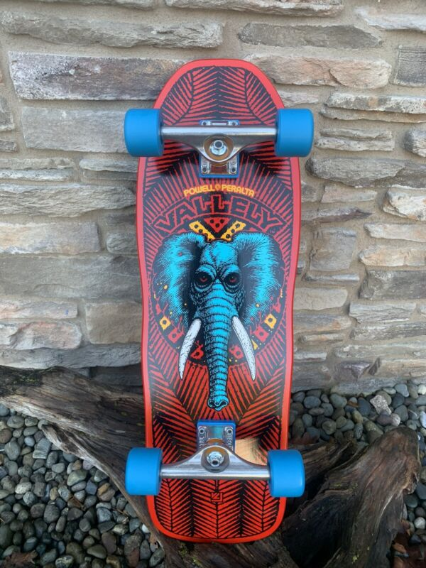 Powell Peralta Re-Issue Mike Valley Elephant Red Custom Complete Skateboard