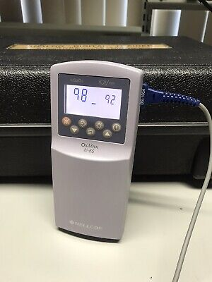 Nellcor Oximax N-65 Pulse Oximeter And Ds-100a Finger Probe Works Great