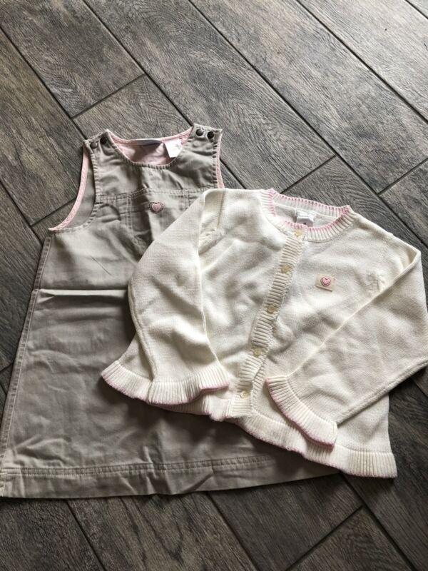 NWT Liz Claiborn Kids 2 Piece Set Dress & Sweater Size 4T