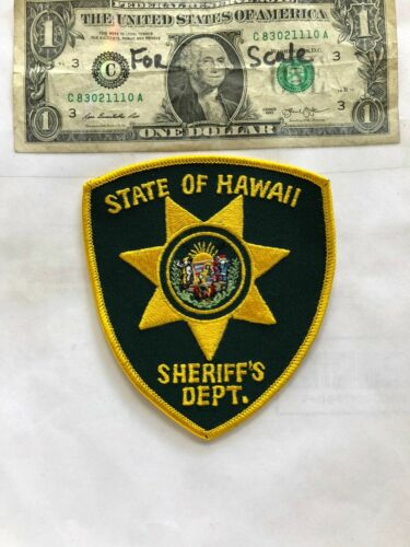 State of Hawaii Police Patch (Sheriff