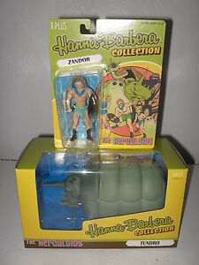 IMPORT XPLUS THE HERCULOIDS PVC ZANDOR AND TUNDRO SEALED SET HANNA-BARBERA US