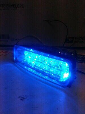 Lot 1 Tomar Rect-14ls Rb Led Dual Channel Mini Warning Light 1 Whelen Sae W03