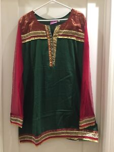 Asian (Indian / Pakistani) • Shalwar Kameez Suit