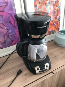 Black & Decker digital programmable coffee maker