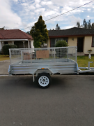 Trailer with cage for hire.  Beresfield Newcastle Area Preview
