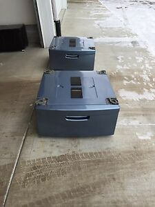 2 pedestals for front load washer and dryer