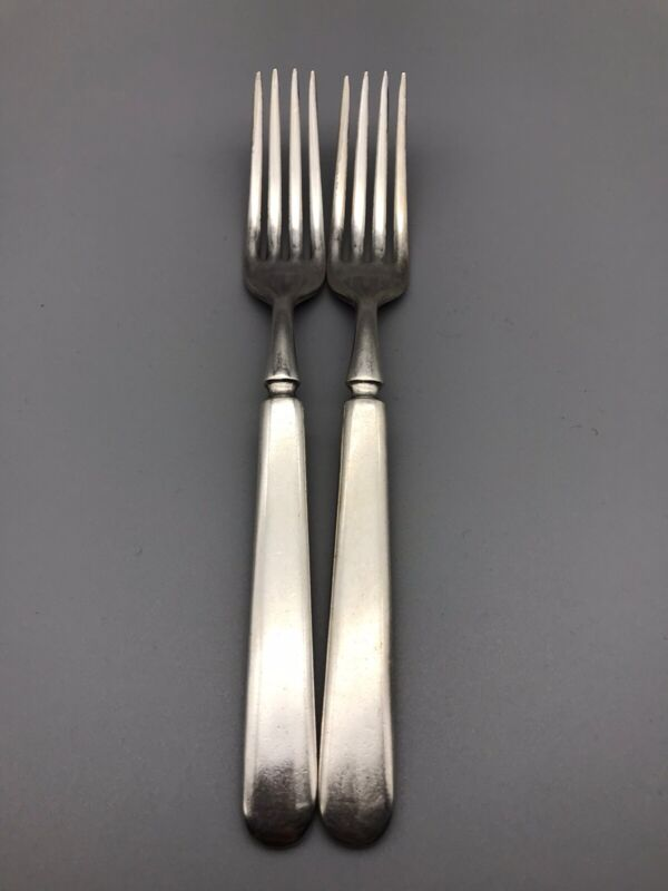 2 1835 R Wallace 12 Dinner Forks