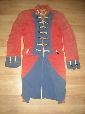 VTG COSTUME VAN HORN REVOLUTIONARY WAR BRITISH RED COAT ARMY UNIFORM JACKET - British Redcoat Jacket
