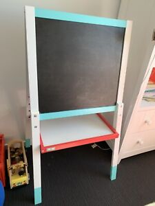 Kids easel - blackboard and whiteboard