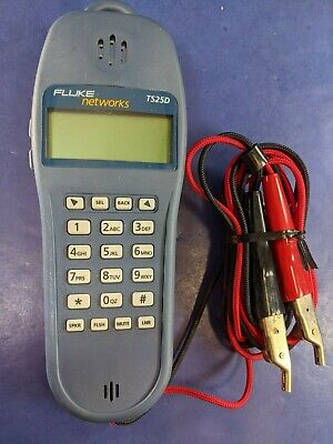 Fluke Ts25d Test Set Kit With Abn Clips Excellent Condition