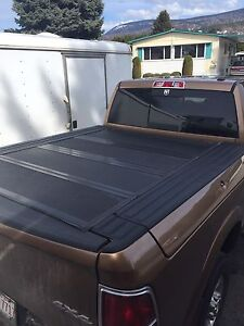 Dodge BAKFlip tonneau cover and box spacer