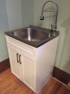 Sink/Cabinet/Faucet Combo