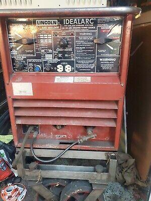 Lincoln Idealarc Tig-250250 Acdc Tig Stick Welder 1ph