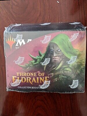 MTG Throne of Eldraine Collectors Edition Sealed Booster Box 12 Packs NEW