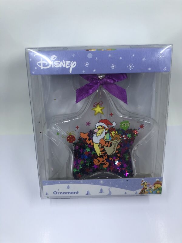 Disney Tigger Christmas Holiday Ornament, NIB.