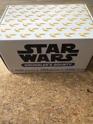 Funko Pop! Star Wars Smugglers Bounty Podracing Box 2019 w/2XL Shirt, pops & pin