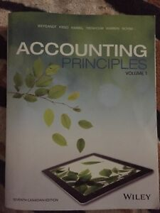 Accounting principle Volume 7 Kimmel Text