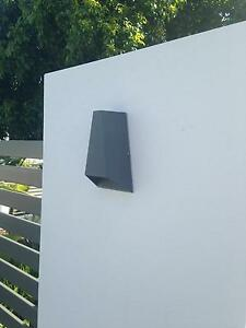 LEDlux Vice 6W Triangle Up/Down Exterior Wall Bracket in Charcoal Camp Hill Brisbane South East Preview