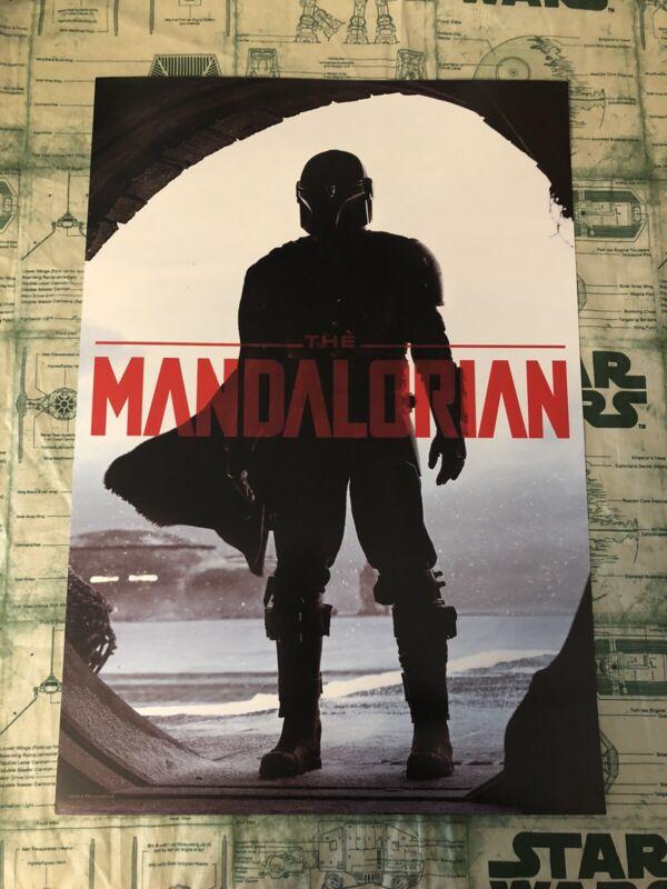 Star Wars Celebration 2019 Chicago MANDALORIAN Exclusive Poster Disney 19x13 New