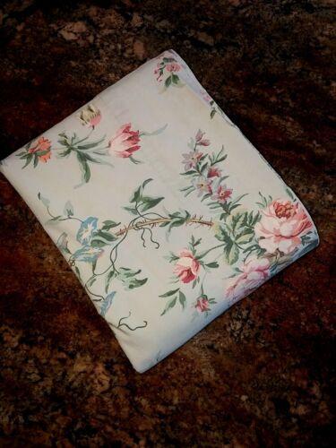 """Ralph Lauren Home Queen Toulouse Flat Floral Sheet 90x101"""""""