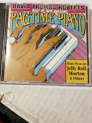 Best of New Orleans Ragtime Piano by David Thomas Roberts ultra rare cd